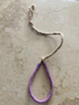 Pink & Lavender Cord Bracelet - $24.99