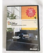 Microsoft Office Professional Edition 2003 Academic Ed. with Product Key - $29.03
