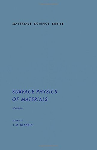 Surface Physics of Materials, Vol. 2 [Hardcover] J. M. Blakely
