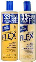 Revlon Flex Body Building Shampoo & Regular Conditioner 592 ml / 20 oz S... - $25.48