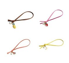 4 Pieces Of Exquisite Christmas Fruit Hair Ring Hair Accessories image 1