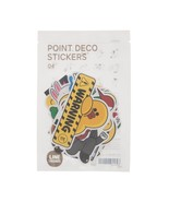 LINE Friends STICKERS Set 4 Character DIY Decor Notebook Luggage Cell Ph... - $10.83