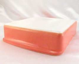 "Pyrex 222 Desert Dawn Square Baking Dish Vintage Speckled 8""x8"" Made in the USA image 3"