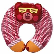 Panda Superstore Cute Cartoon Car Headrest Neck Pillow(Multicolor,Free)