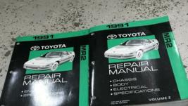 1991 Toyota MR2 Mr 2 Servicio Reparación Taller Tienda Manual Juego - $276.89
