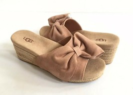 UGG JAYCEE ARROYO WEDGE ESPADRILLES SLIP ON SHOES sz US 7.5 / EU 38.5 / ... - $79.48
