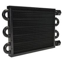 "A-Team Performance Aluminum Tube & Fin Transmission Oil Cooler, 15 1/2"" x 5"" image 2"