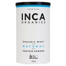 INCA Organics Organic Whey Natural Protein Powder 400G - $663.11