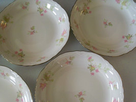 Homer Laughlin Maple Leaf Set Of Six Soup Bowls image 3