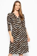 Print Midi, A-line Dress - $26.50