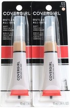 2 Covergirl 810 Fair Outlast All Day Soft Touch .34 Oz Concealers Matte Finish - $17.99