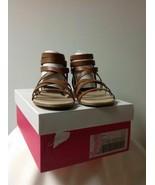 New - JustFab Tristane Sandals Cognac US Size 10 - $18.90