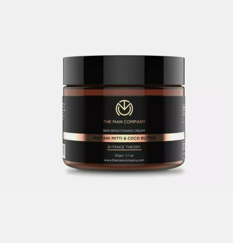 The Man Company Skin Brightening Cream Multani Mitti and Coco Butter, 50 gM FS