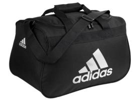 Adidas DIABLO SMALL DUFFLE BAG Black Gym Bag - $24.74