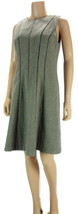 RALPH LAUREN Sleeveless Wool Tweed Piping Trimmed Fit and Flare Dress NW... - $37.93