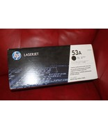 HP 53a Black Toner Cartridge (HP Q7553A) P2014 P2015 M2727 GENUINE NEW S... - $42.78