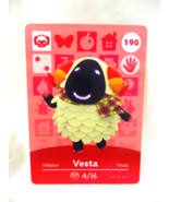 190 - Vesta - Series 2 Animal Crossing Villager Amiibo Card - $29.99