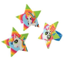12 Unicorn Rubber Rings Jewelry Rainbow Colors Favors Birthday Party Eve... - $4.95