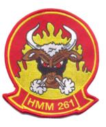USMC HMM-261 Raging Bulls Patch   - $11.87