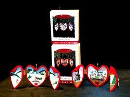Hallmark Keepsake Christmas Ornaments Two Heart of Christmas Collector Series A image 3