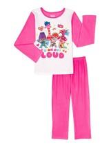Troll world tour fleece Basic poppy pajamas girl size 4-5, 6-6x or 7-8 - $12.83