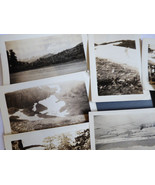1930s 10 pc Photographs Snapshots old black & white photos Nature people... - $16.63