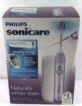 Philips Sonicare Healthy White Electric Lavender Toothbrush HX6721/45 - $95.04