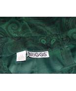 Briggs Women's Long Paisley Skirt Size 12 - $14.00