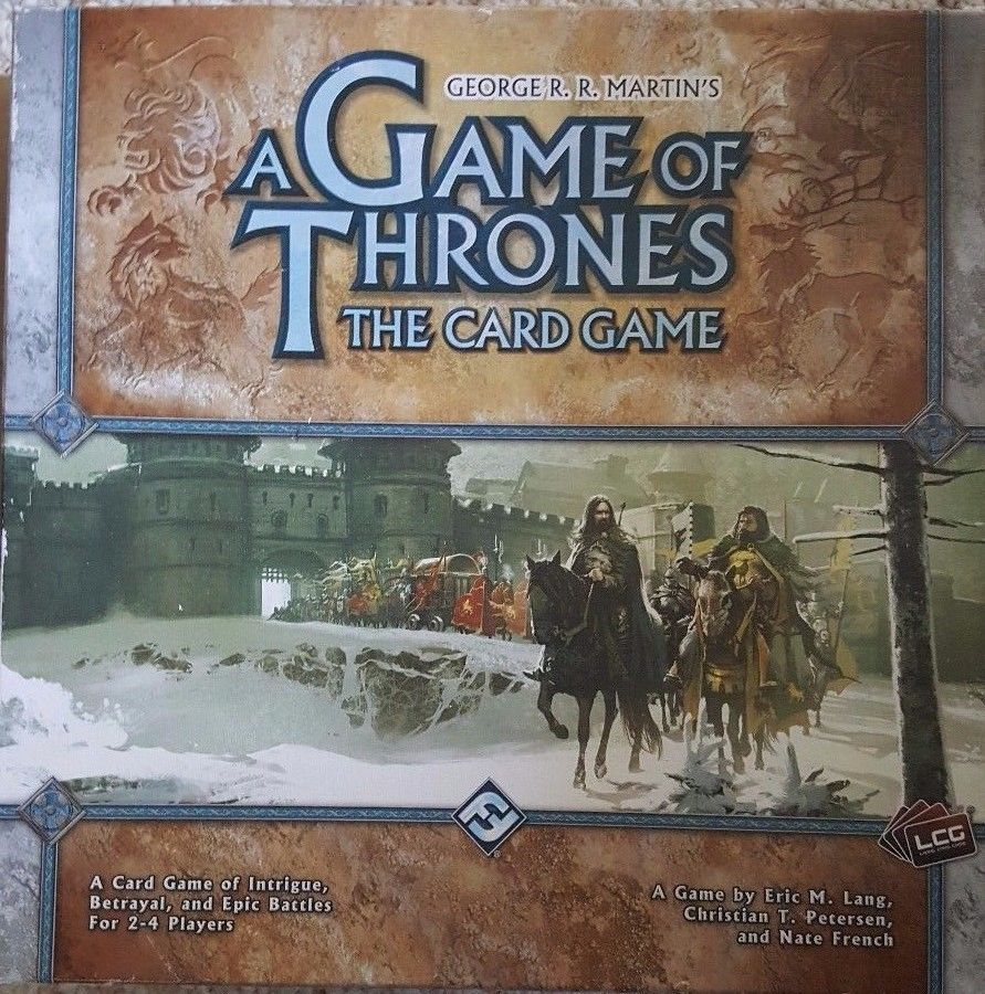 Primary image for A Game of Thrones - The Card Game   ISBN 9781589944206