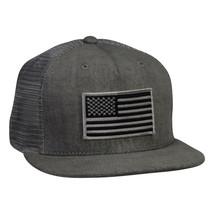 United States Trucker Hat - Gray Snapback - £15.43 GBP
