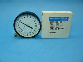 "Ashcroft Pressure Gauge 4-1//2/"" 0-300psi NEW 45W1000 H 02L"