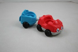 FISHER PRICE Little People Sounds Airport Red Car & Trailer - $4.94