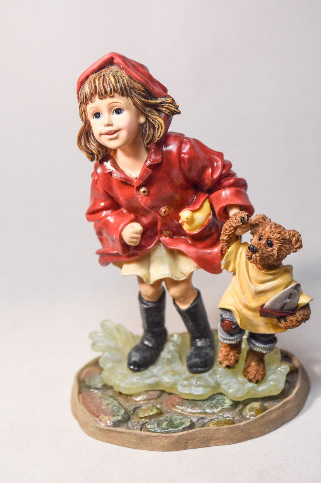 Boyds Bears: Brooke With Joshua - Puddle Jumpers - #3551 - 1st Edition - 1E/3304 image 5