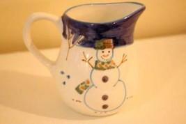 Montgomery Ward Snowman Creamer 8 oz. - $8.31