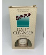 Vintage 1989 Buf-Puf Daily Cleanser New Old Stock Discontinued - 2.5 oz - $25.00