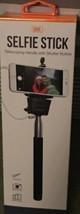 New GEMS Selfie Stick With Telescoping Handle & Shutter Button Black - $9.99