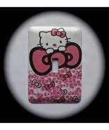 Hello Kitty Metal Switch Plate Kids - $9.50