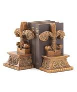 Gifts & Decor Fleur-DE-LIS BOOKENDS, Brown - $23.32