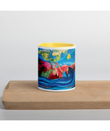 Advocacy Painting Mug with Color Inside - $17.00
