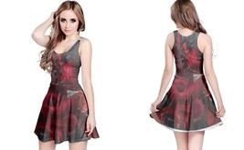 Red icp reversible dress for women thumb200