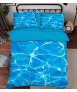 3D Rippling Wave Bed Pillowcases Quilt Duvet Cover Set Single Queen King... - $64.32+