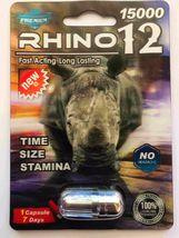 100% Genuine Rhino 12 Premium 15000 Male Sexual Performance Enhancer image 3