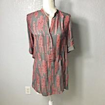 Tucker Women Size Small 100% Silk 3/4 Sleeve Shirt Dress made in USA - $82.63