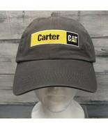 CAT Baseball Hat Cap Adjustable Caterpillar Carter Machinery Embroidered... - $12.82