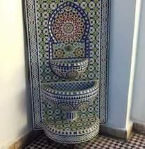 mosaic fountain .fountain length:130cm.fountain width:80cm.fountain trad... - $5,000.00