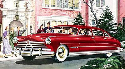Primary image for 1950 Hudson Custom Commodore - Promotional Advertising Poster