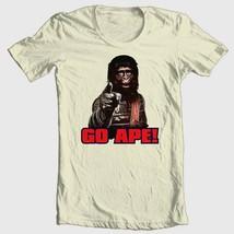 Planet of the Apes T-shirt 1970s GO APE retro original movie 100% cotton tee image 2