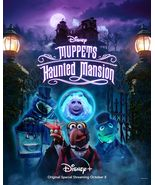 """Muppets Haunted Mansion Movie Poster TV Special Art Print Size 24x36"""" 27... - £7.89 GBP+"""