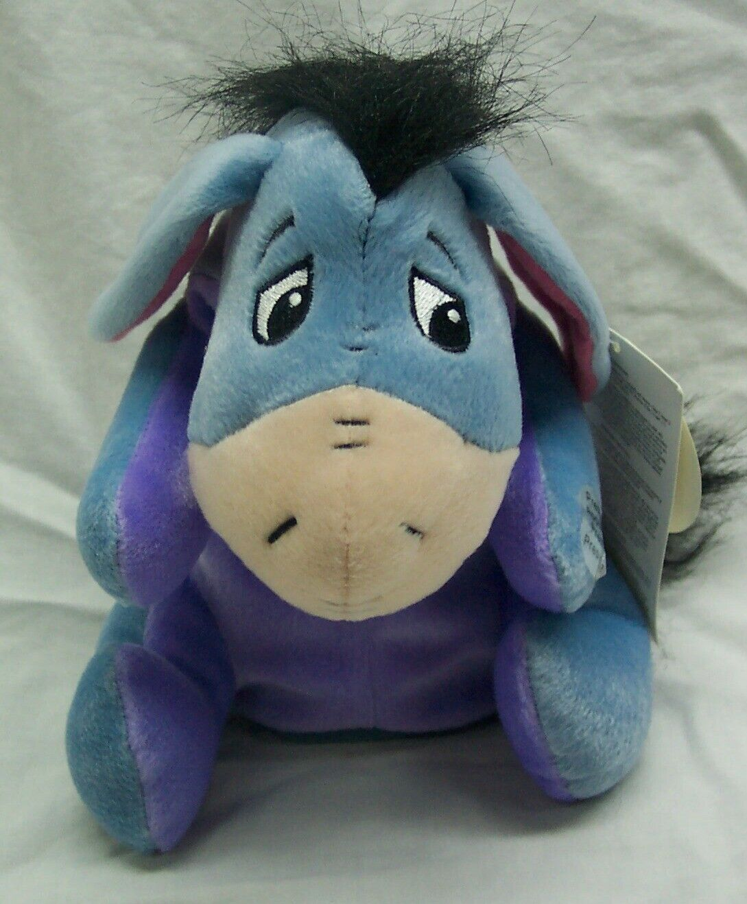 "Disney Store Winnie the Pooh TALKING MOVING EEYORE 8"" Plush Stuffed Animal NEW"