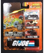 Jada Nano Hollywood Rides NV 18 GI JOE NEW 2020 - $13.06